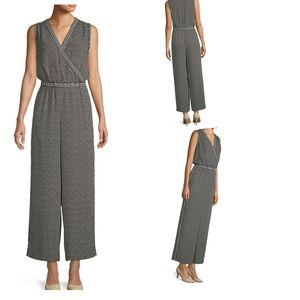 Max Studio printed sleeveless jumper small